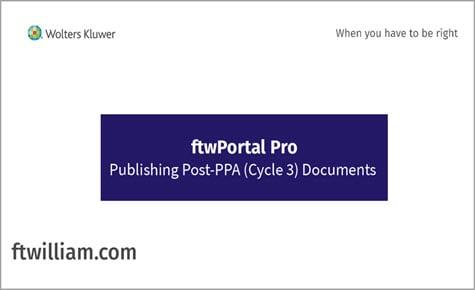 ftwPortal Pro - Publishing Post PPA