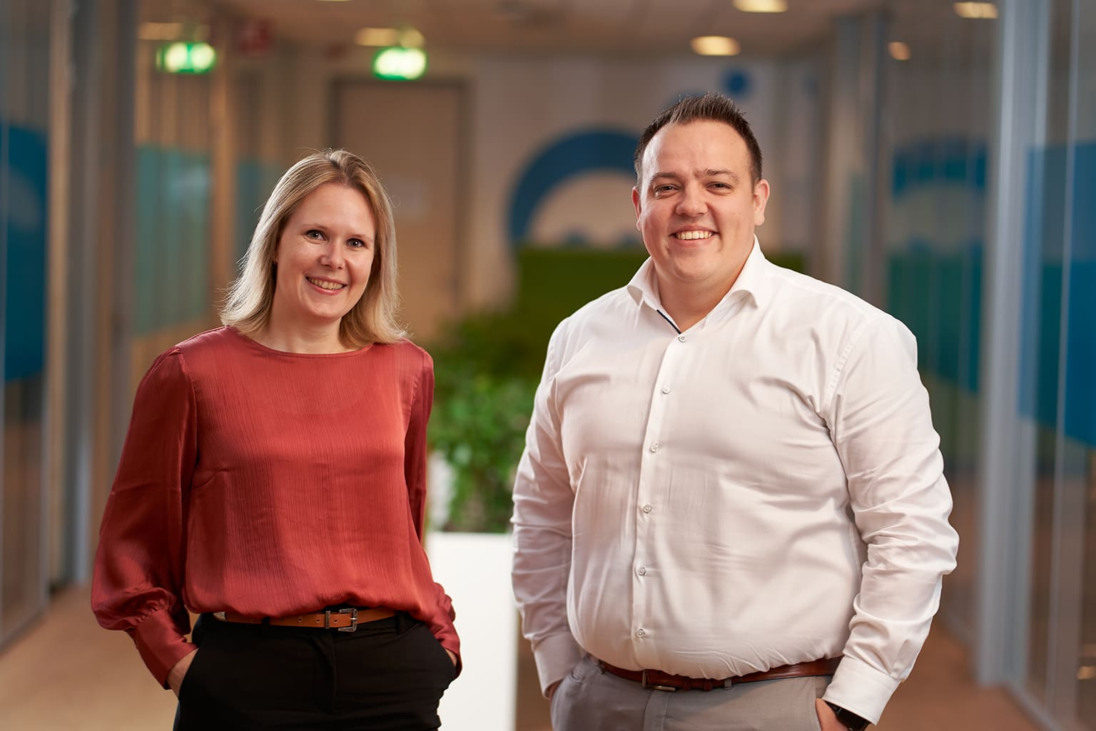 Accountmanangers Lilian en Remco van Twinfield