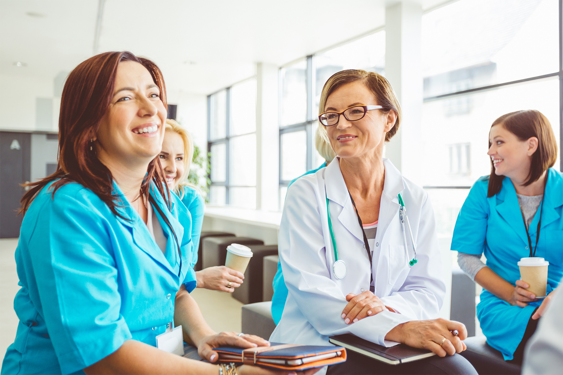Healthcare professionals, students and their educator