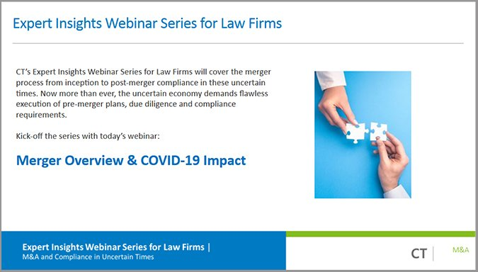 Merger Overview & COVID-19 Impact