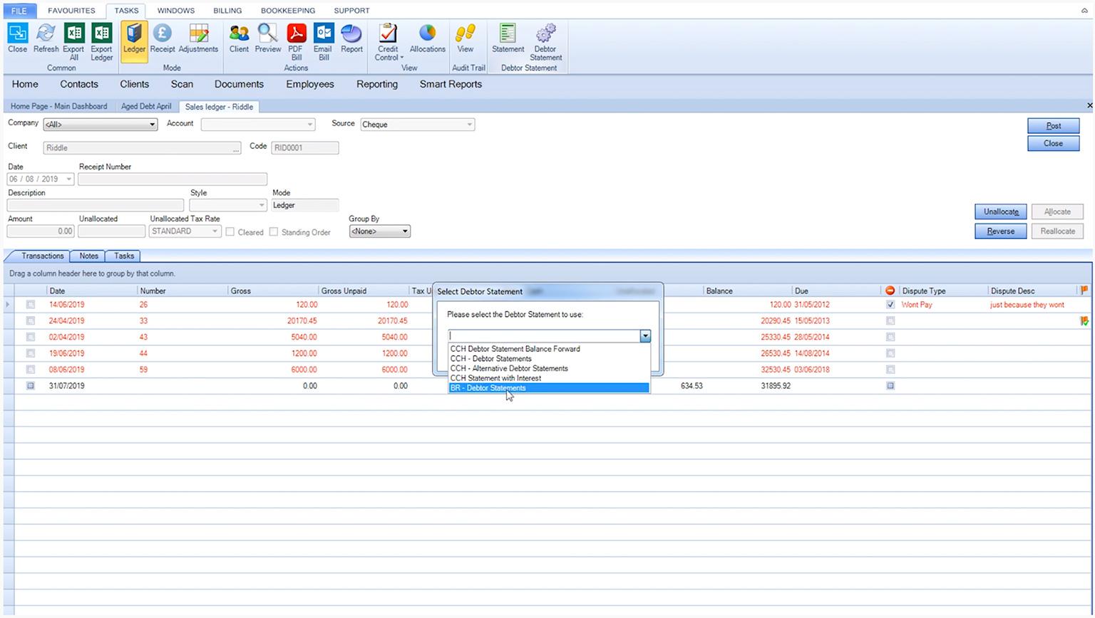 CCH Practice Management - Pre-empt credit control issues Video