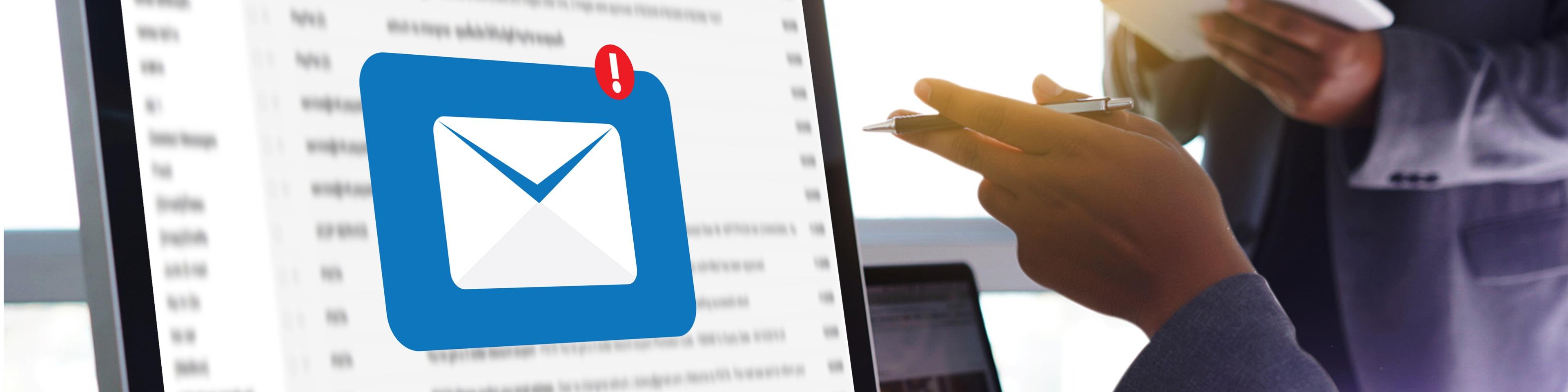 e-mail te mijden