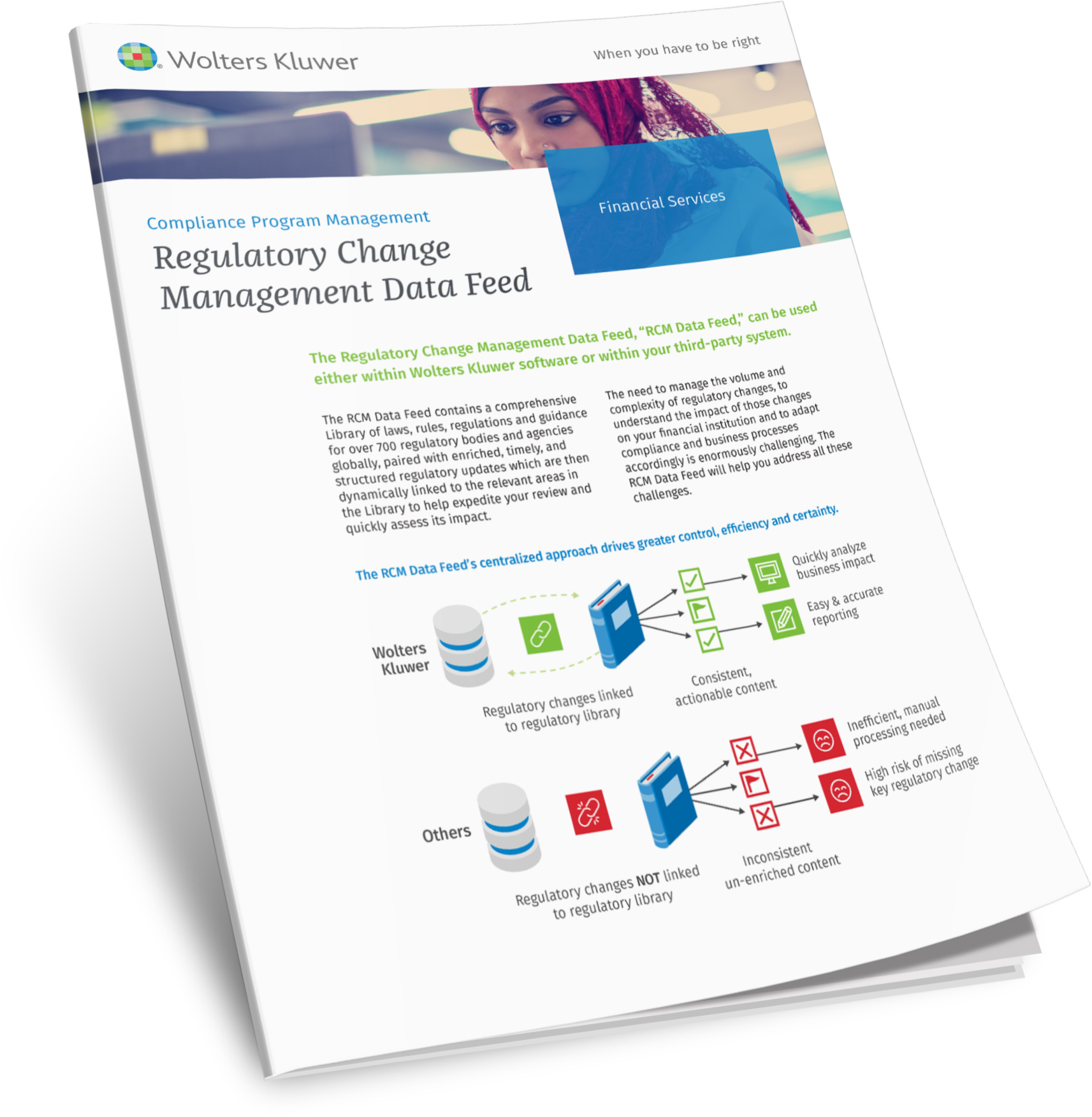Regulatory Change Management Data Feed