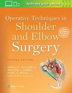 Operative Techniques in Shoulder and Elbow Surgery book cover