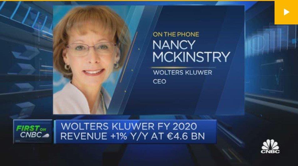 CNBC Nancy McKinstry