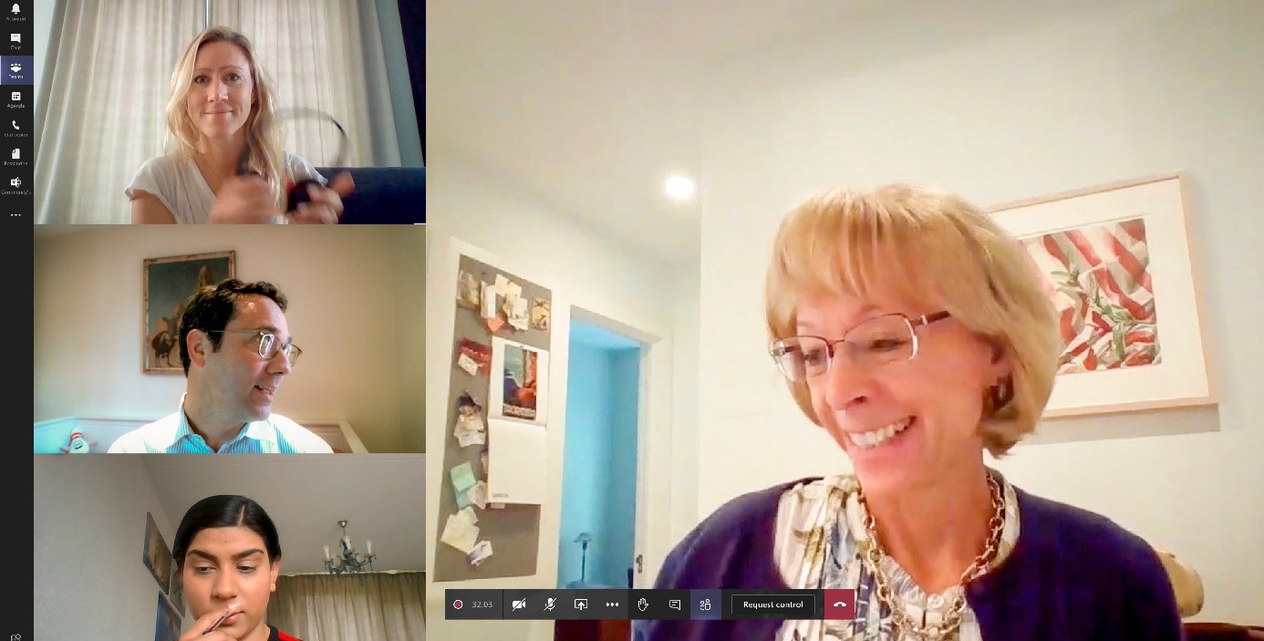 Nancy McKinstry talks about business impact through COVID-19 and how our digital activities are proving to be resilient