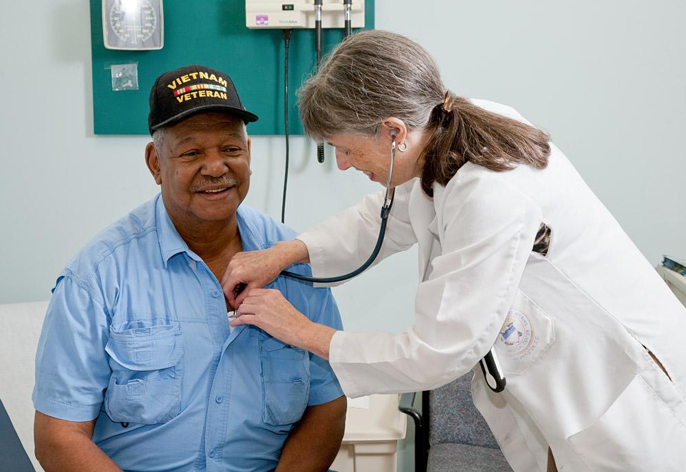 Doctor with Vietnam Veteran