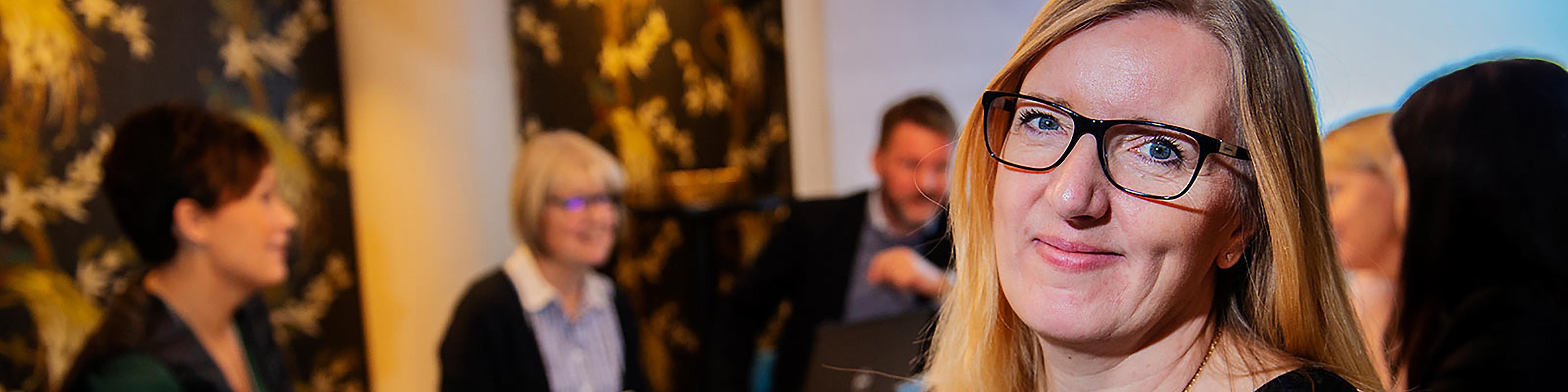 Anne-Marie på Bengt Dahlgren