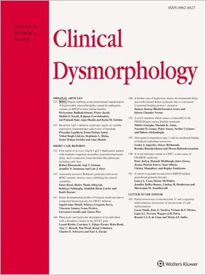 Clinical Dysmorphology