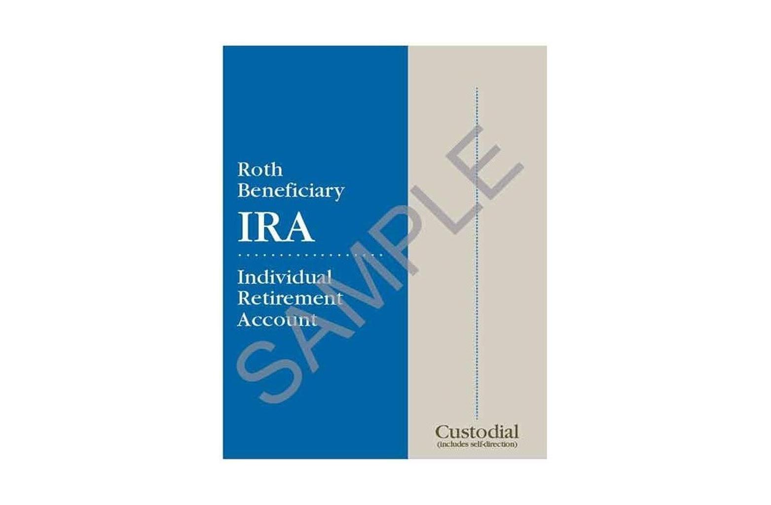 Roth Beneficiary IRA Organizer - custodial sample
