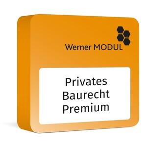 Werner Privates Baurecht Premium