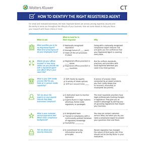 registered agent checklist
