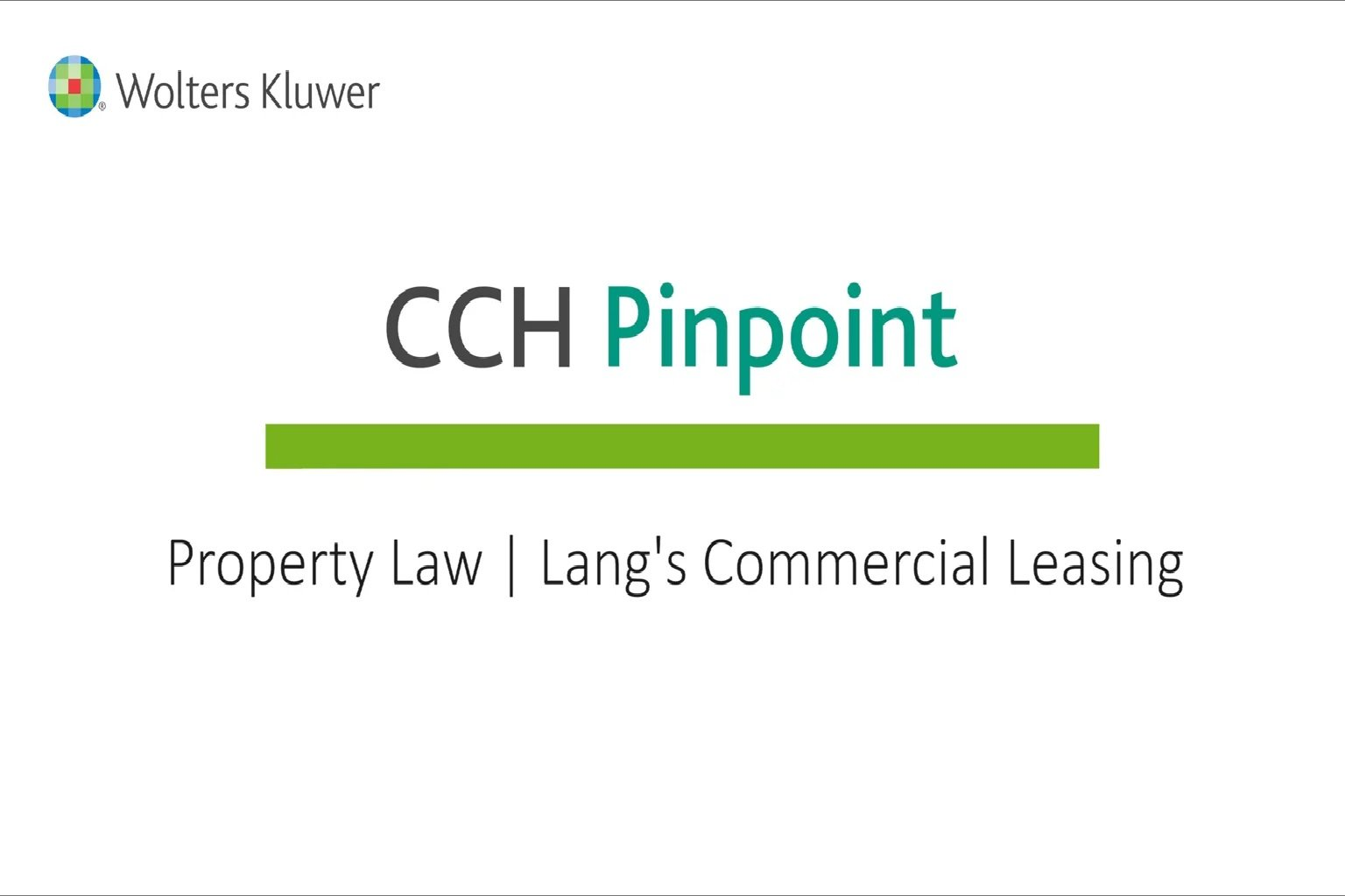 Property Law – Lang's Commercial Leasing