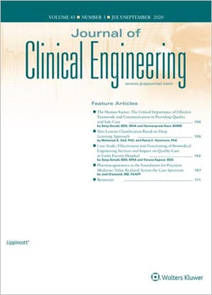 Journal of Clinical Engineering