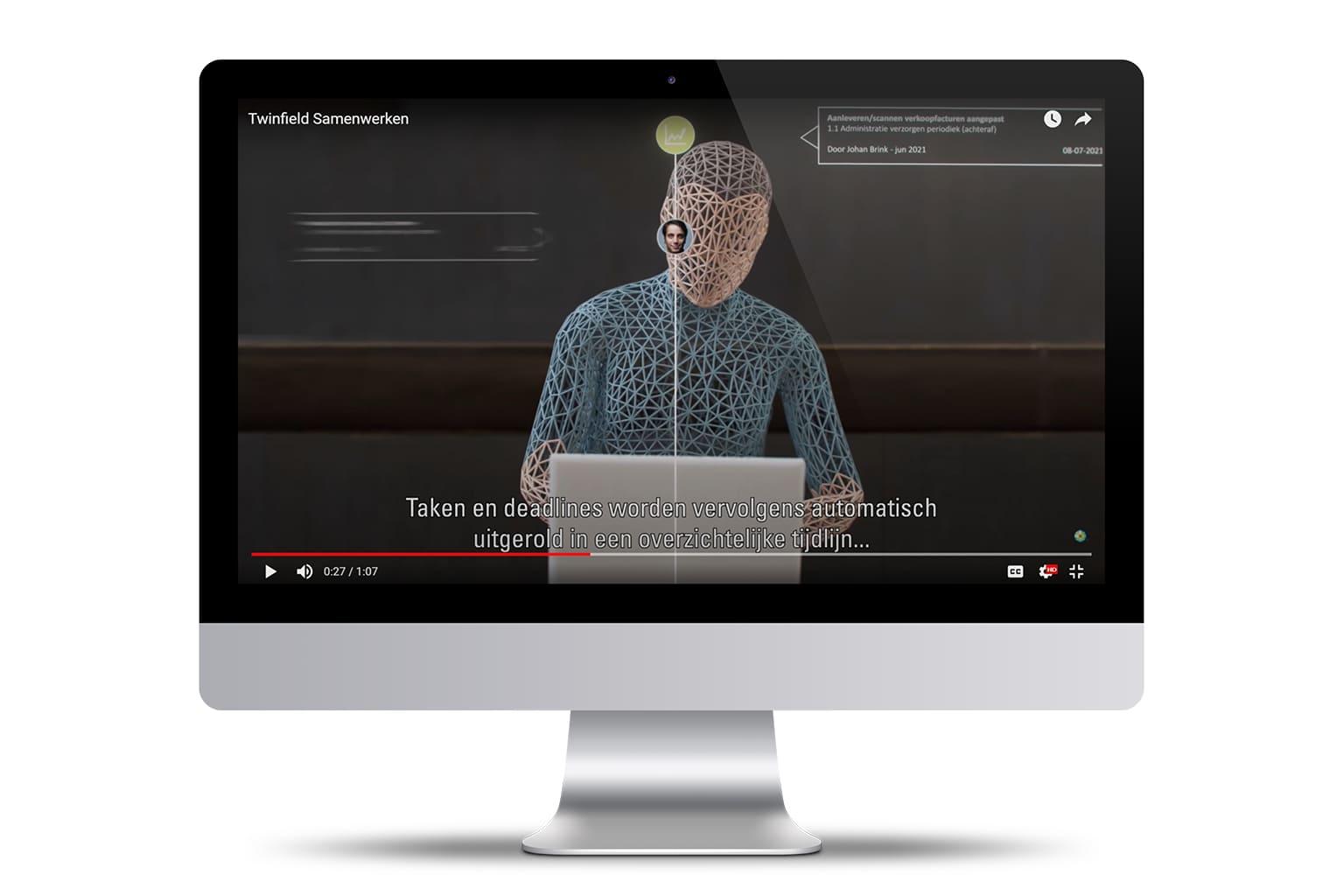 Screenshot Twinfield Samenwerken