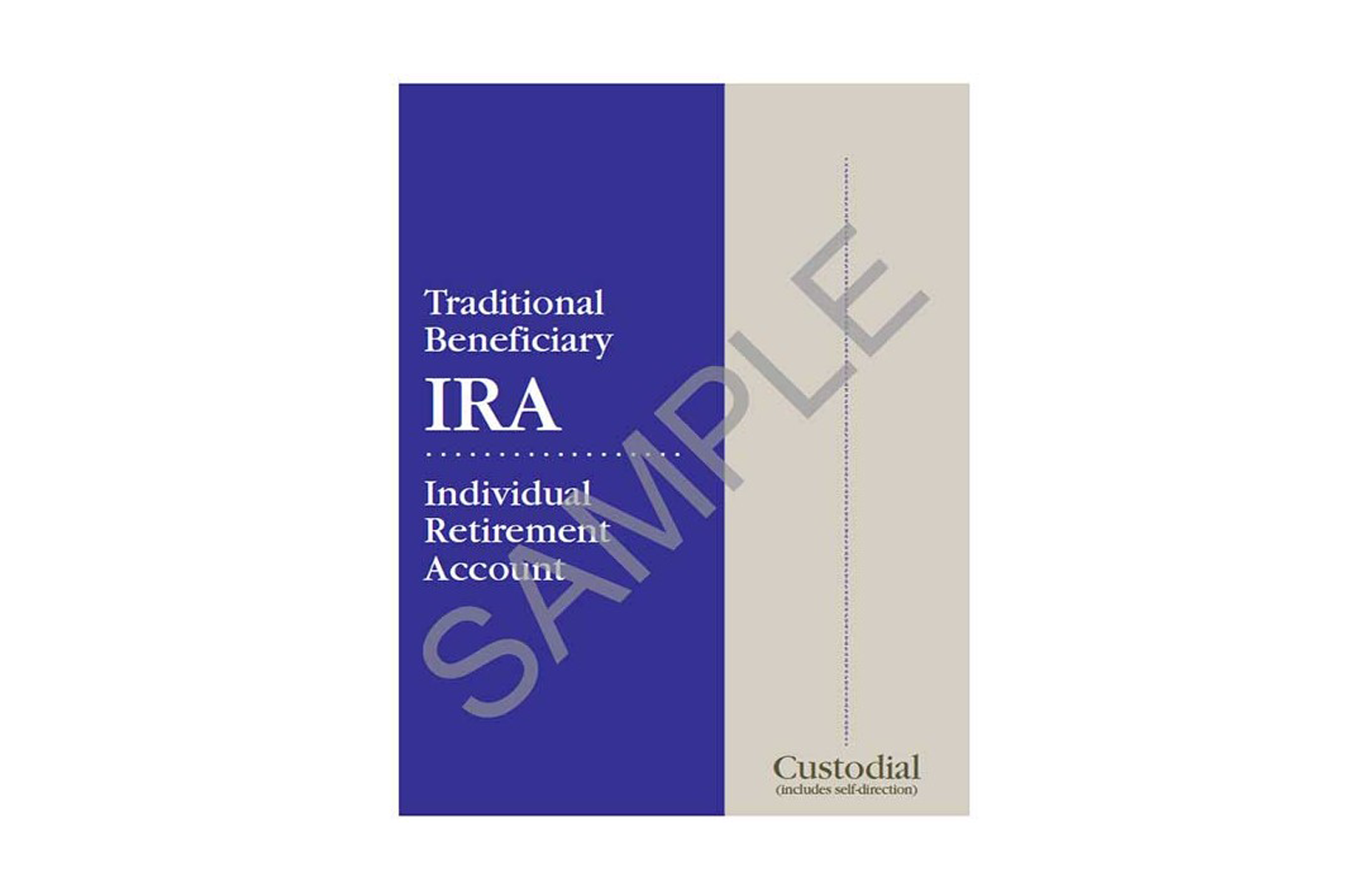 Traditional Beneficiary IRA Organizer - custodial sample