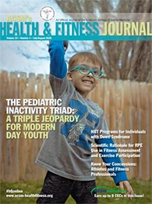 ACSMs Health and Fitness Journal