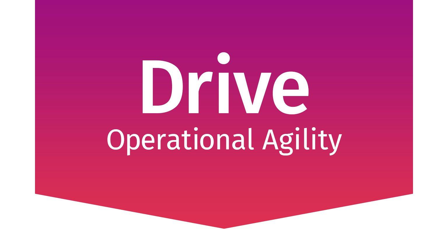 Drive Operational Agility