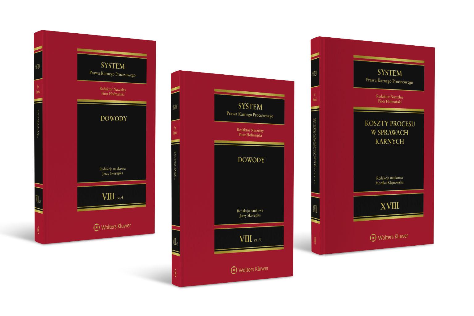 Obecnie dostępne w LEX tomy Systemu Prawa Karnego Procesowego