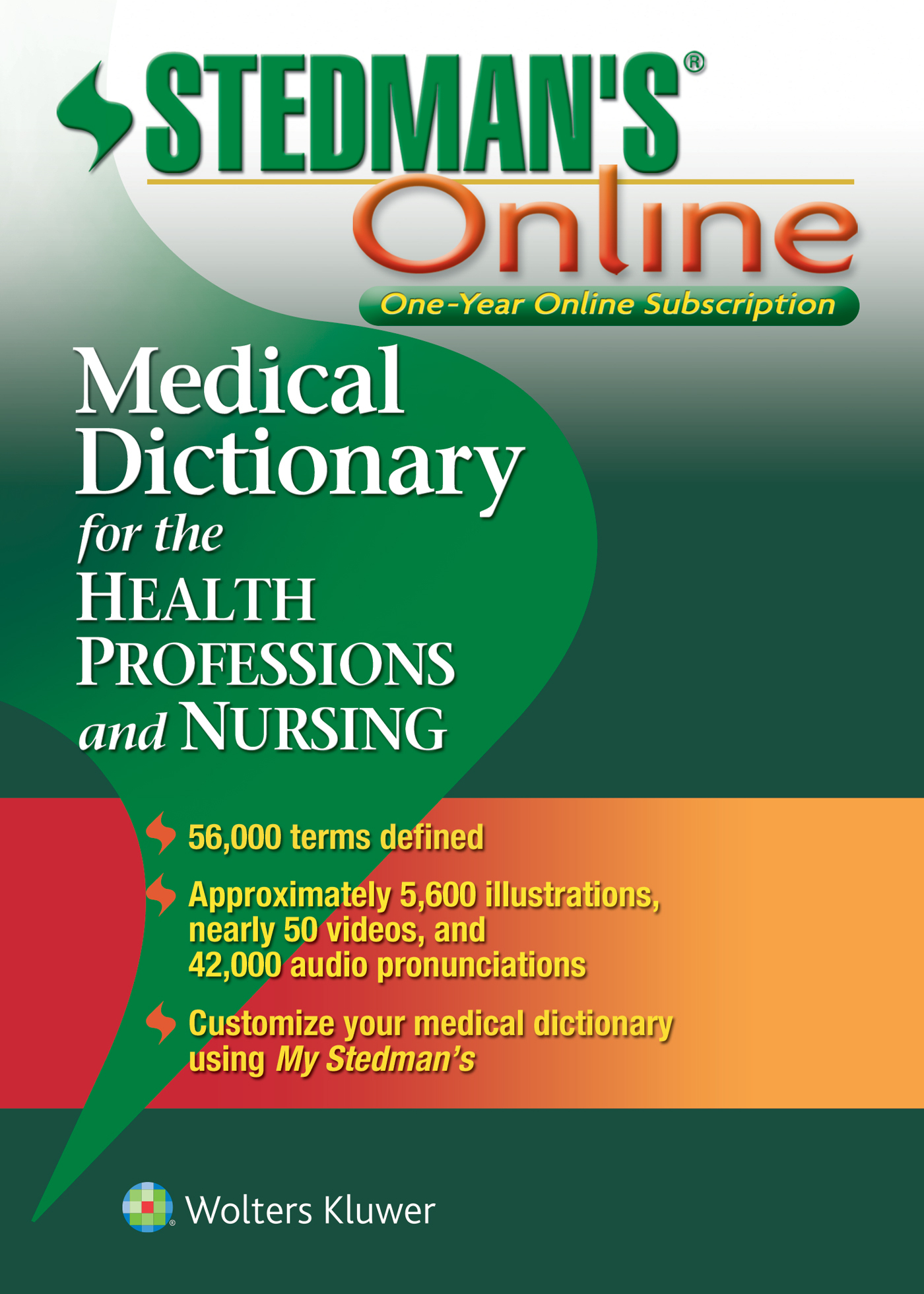 Stedman's Medical Dictionary for the Health Professions and Nursing book cover