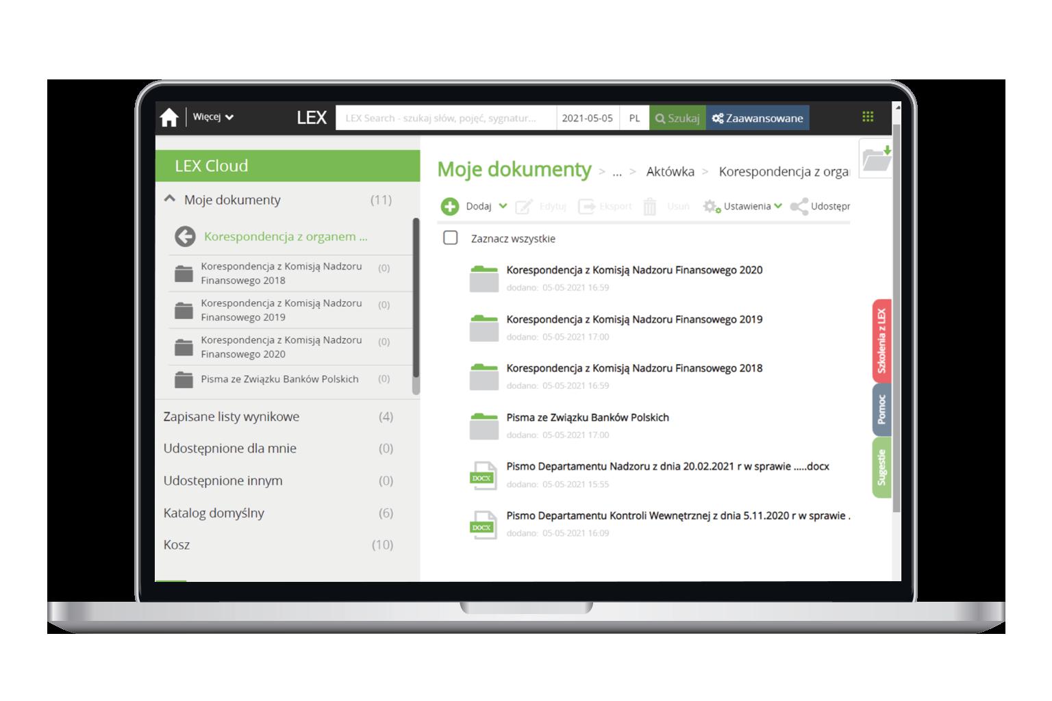 Zarządzanie kontentem w programie LEX Biznes