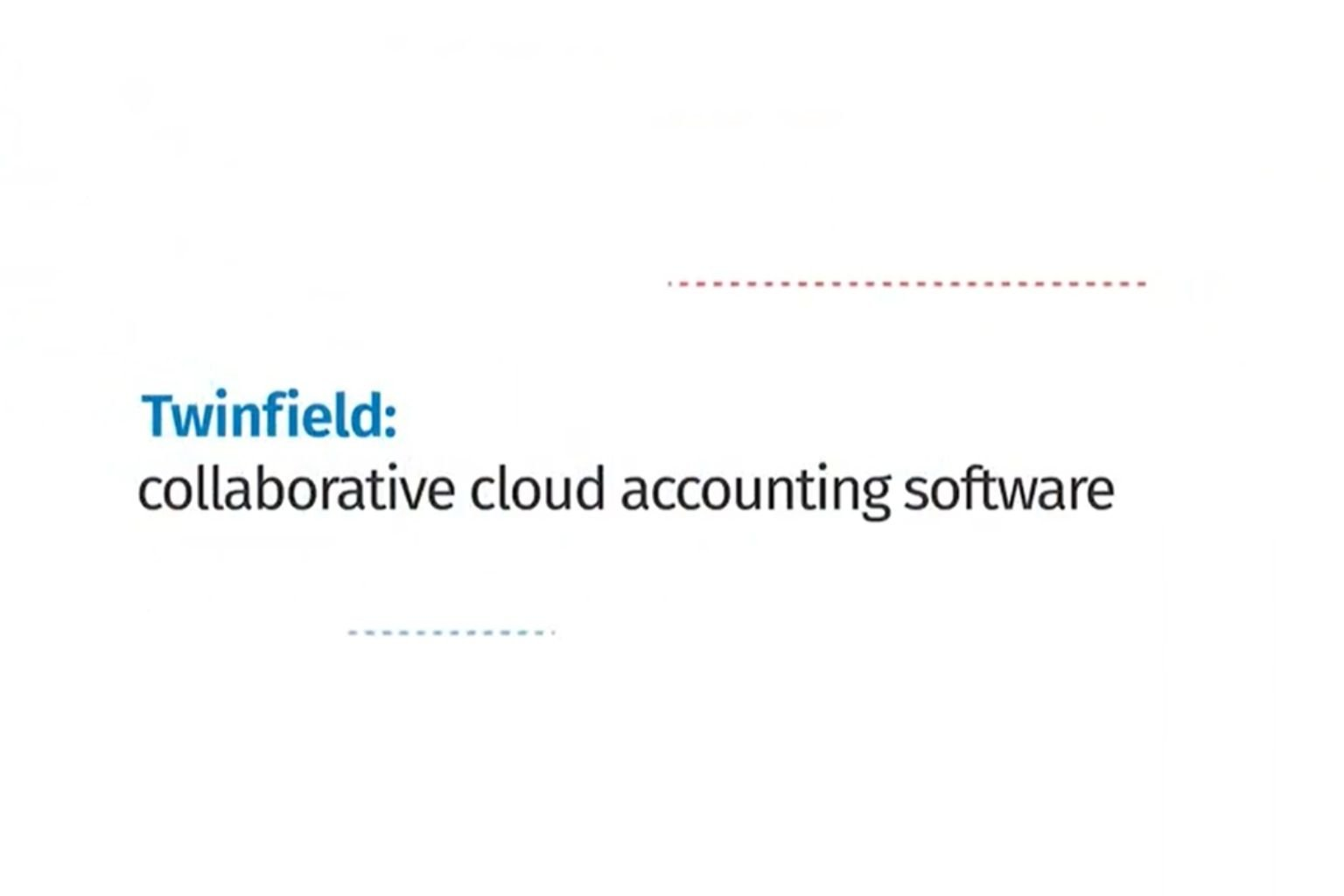 Twinfield collaborative cloud software