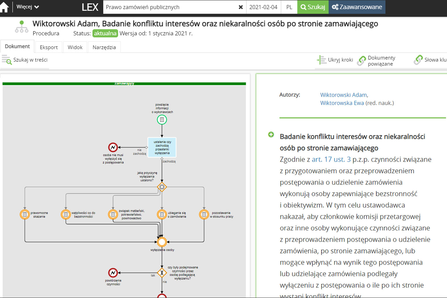 LEX Navigator Zamówienia Publiczne
