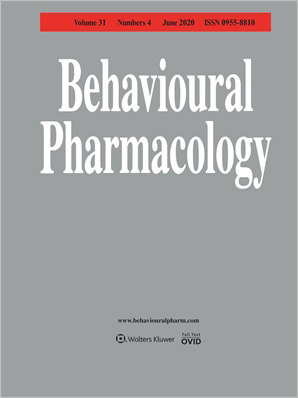 Behavioural Pharmacology