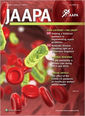 Journal of the American Academy of PAs (JAAPA)