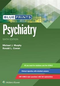 Blueprints Psychiatry book cover