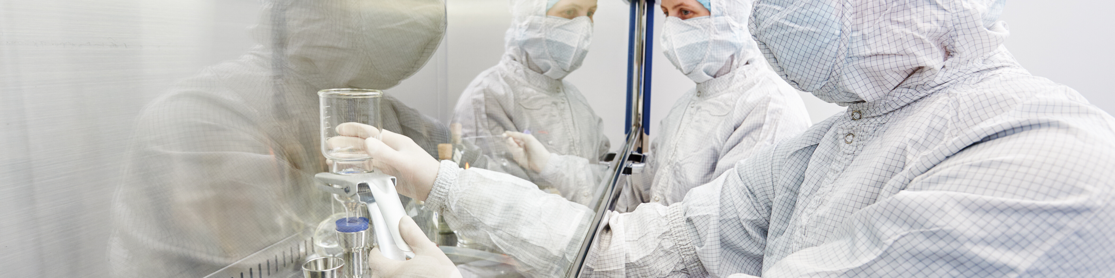 Sterile compounding under the hood