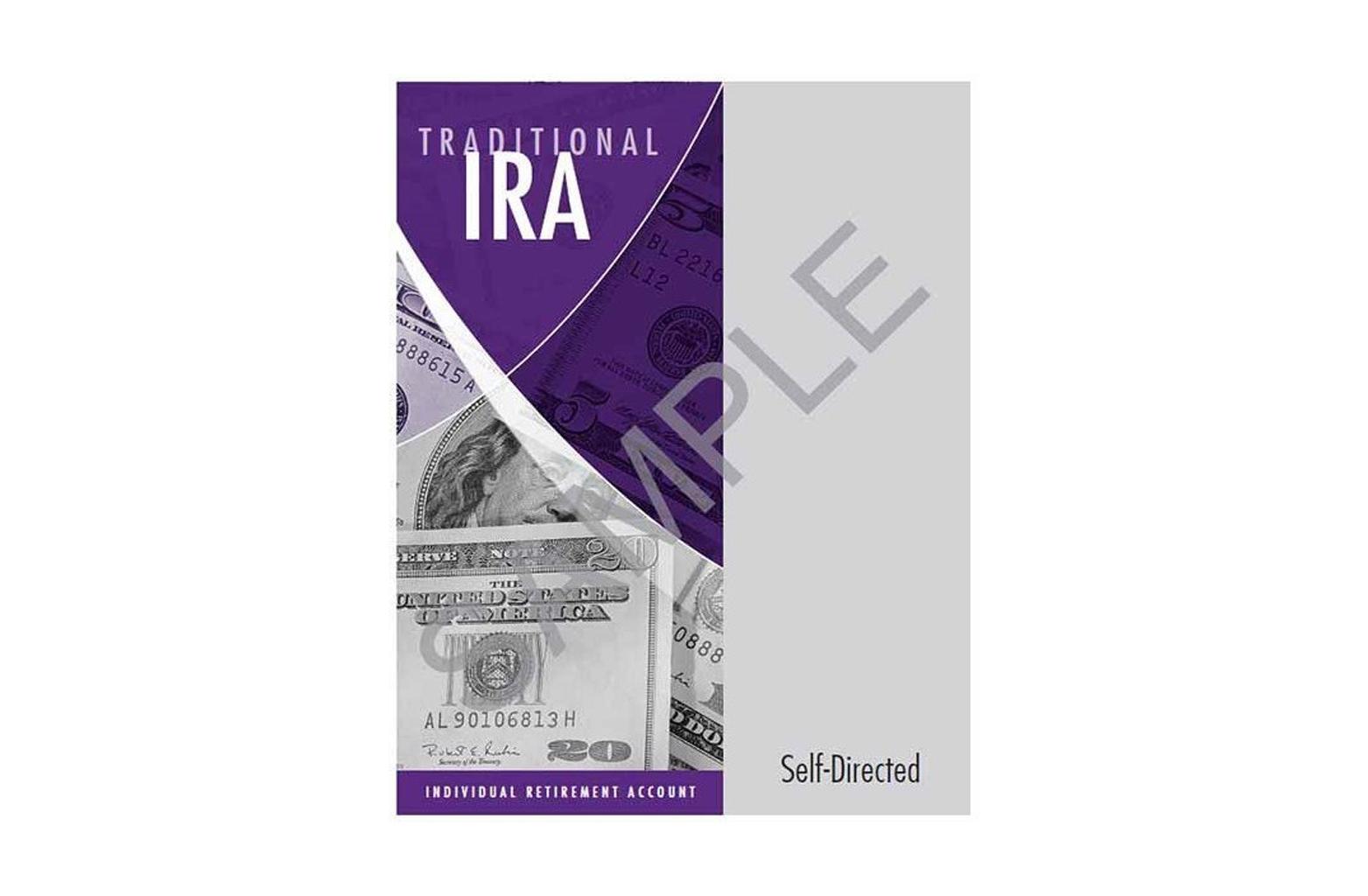 Traditional IRA Organizer - self directed sample