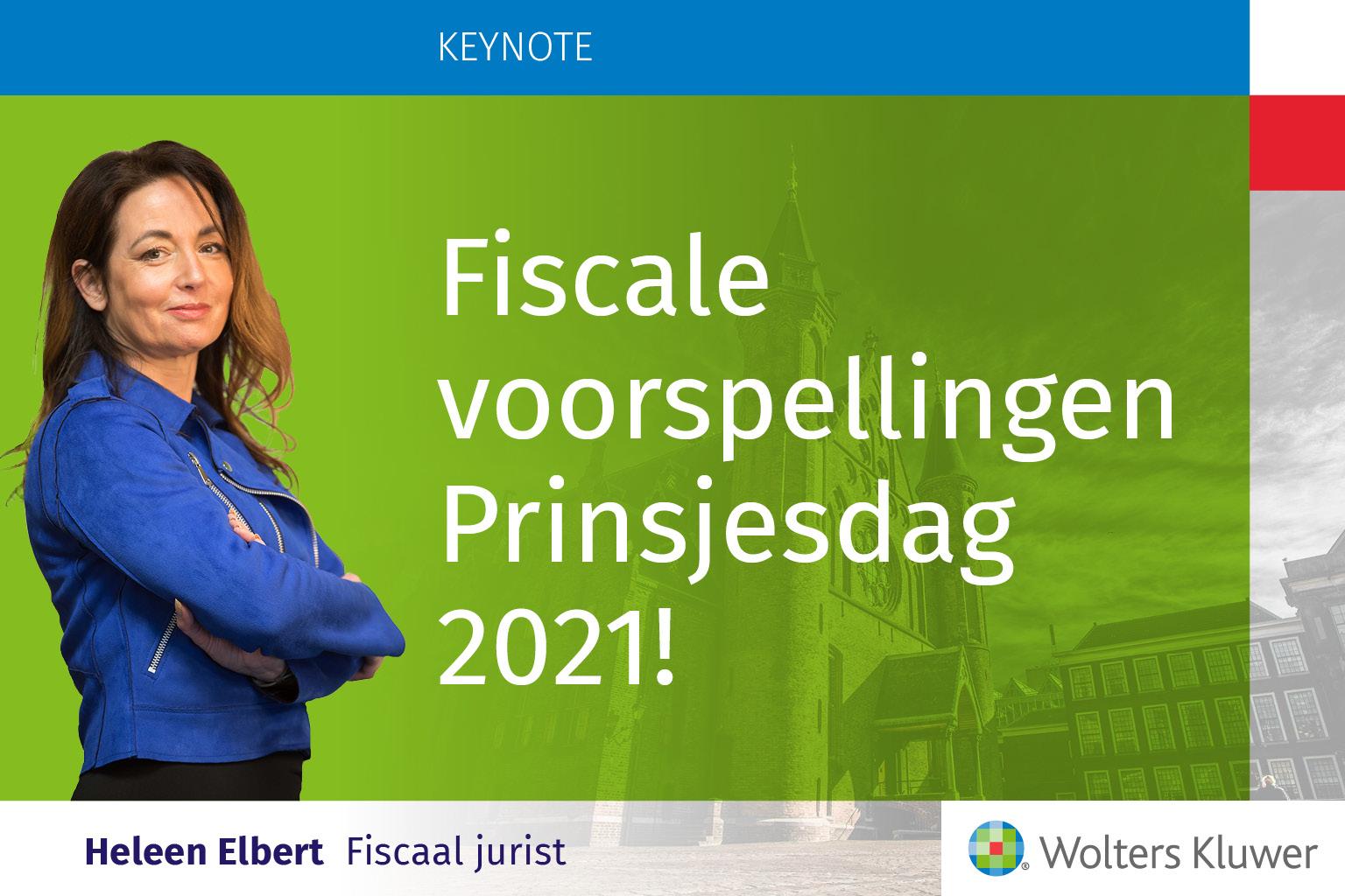 Heleen Elbert fiscale voorspellingen prinsjesdag