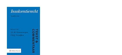 Cover Tekst en Commentaar Insolventierecht
