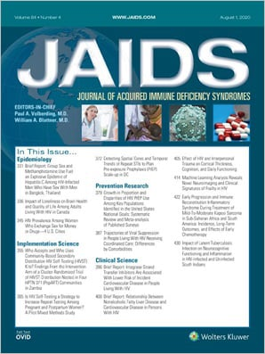 Journal of Acquired Immune Deficiency Syndromes (JAIDS)