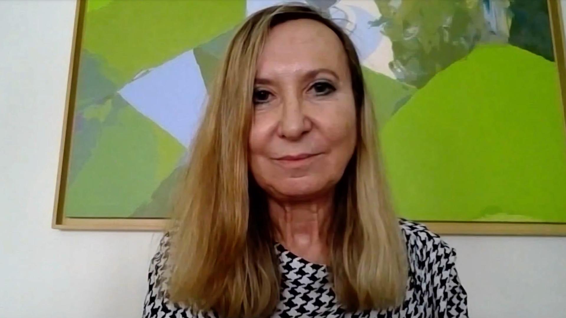 Caridad Mourelo, Inspectora de Hacienda del Estado