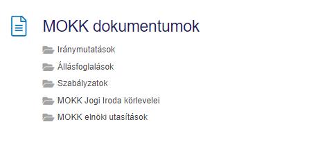 Közjegyző Jogtár - MOKK dokumentumok