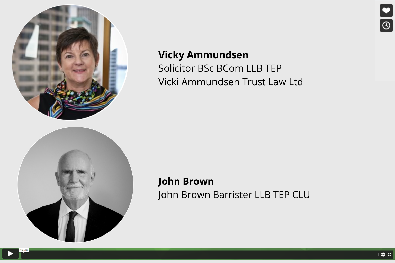 Free Trust Law On Demand Webinar