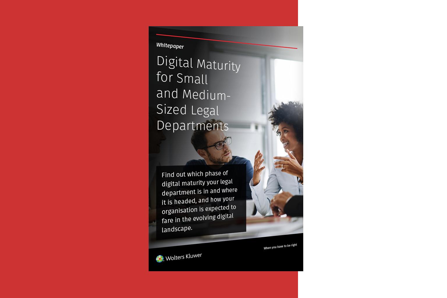 Legisway-Digital Maturity