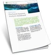 OneSumX Dynamic Analysis Dashboard Product Sheet CN