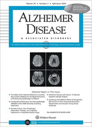 Alzheimer Disease & Associated Disorders