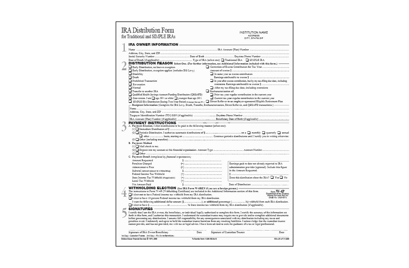 Form sample