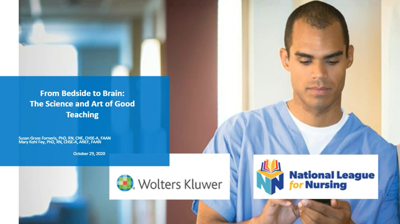 Screenshot of From bedside to brain: Science and art of good teaching video