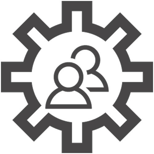 Engage with stakeholders icon