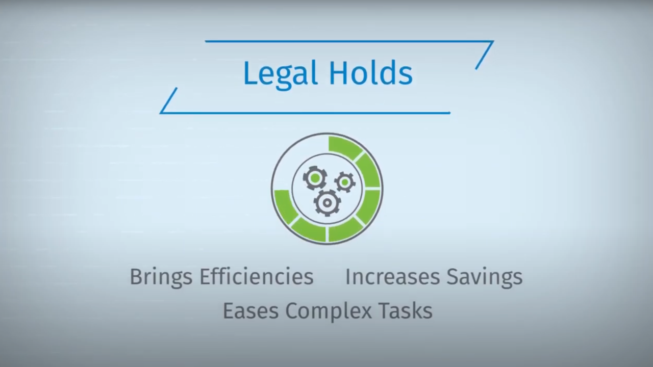 ELM Solutions Legal Holds