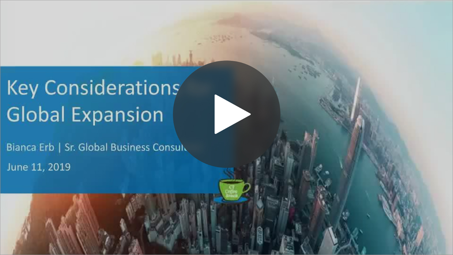 On-demand Webinar: Key Considerations for Global Expansion