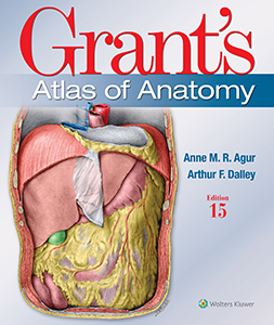 Grant's Atlas of Anatomy book cover