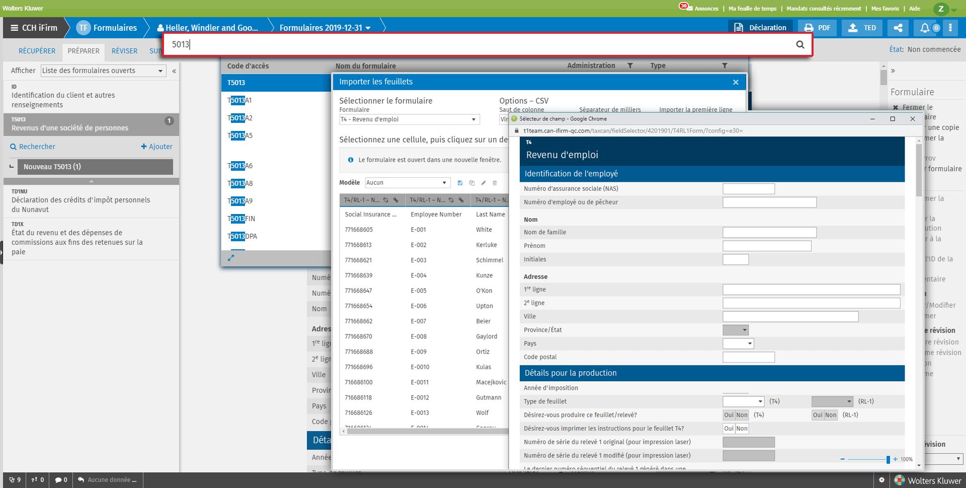 CCH iFirm Cantax screenshot