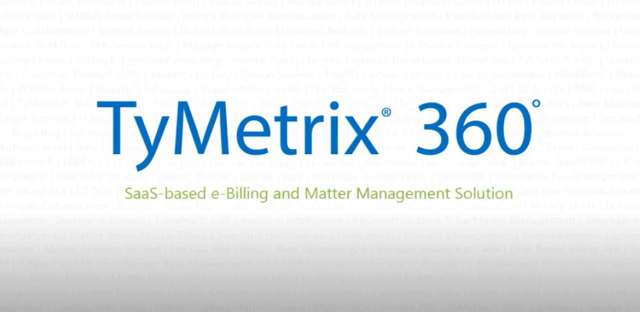 TyMetrix 360 Demo