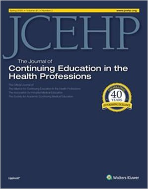 The Journal of Continuing Education in the Health Professions (JCEHP)